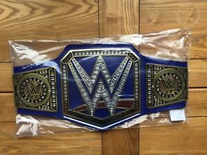 Official authentic Wwe blue universal championship title wrestling belt 2021 raw