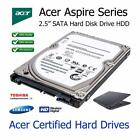 """320GB Acer Aspire 5516 2.5"""" SATA Laptop Hard Disc Drive HDD Upgrade Replacement"""