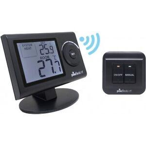 Termostato ambiente digitale Wireless da parete o da tavolo Plikc SKI-RF (Colore