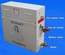 9kw 220V/380V 9m³ Bathroom Steam Generator Sauna Steam Khan Stove W/Controller