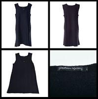 8294 GUDRUN SJODEN 100% Wool Tunic Oversized Comfy Mini Dress Sz L UK 12 DE 42