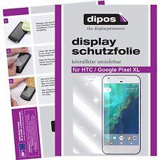 6x Google Pixel XL Schutzfolie klar Displayschutzfolie Folie dipos Displayfolie