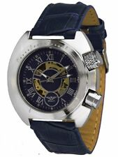 Minoir Uhren - Modell Virton blau - Automatikuhr, Herrenuhr