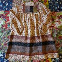 NEXT AGE 4 BNWT FLORAL PAISLEY VINTAGE STYLE DRESS