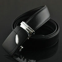 Casual Genuine Leather Automatic Buckle Men's Fashion Waist Strap Belt Waistband