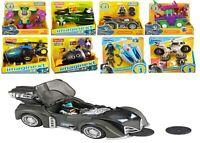 DC Super Friends Batman Car Robot Batmobile Tank Glider Copter Batcycle Joker
