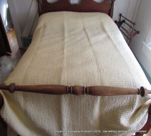 POTTERY BARN KING SIZE BED QUILT COVER Butternut Yellow Beige