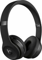 Beats by Dr. Dre Solo3 Wireless Matte Black Beats Icon Collection On Ear