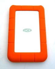 LaCie Rugged Mini 2 TB externe tragbare Festplatte (USB-C)