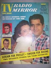 TV RADIO MIRROR JANUARY 1957 ELVIS PRESLEY PETER DONAT BOONE