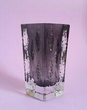 Ingrid Glas Glasvase Vase    70er Jahre signiert