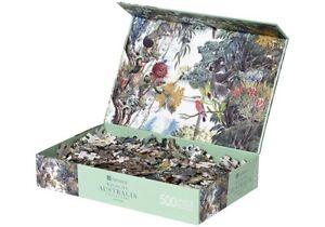 Australia Native Koala Blue Wren Jigsaw Puzzle 500 Piece Adult Kids Toys Gifts