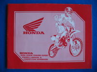 HONDA 2000 CR80R CR80RB EXPERT CR 80 R Owners Competition Handbook - NOT A COPY
