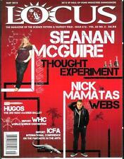 LOCUS #616, 5/12, rare US sci-fi mag, Horror con, Nick Mamatas, new books