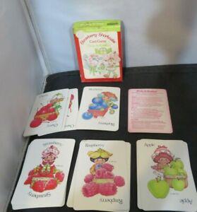 Vintage Strawberry Shortcake Pick a Basket Card Game Complete!