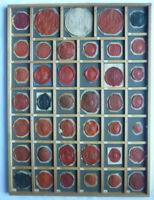 S11 Siegel Sammlung 41 Fürstliche Häuser Wappen vor 1918