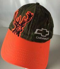Chevrolet Hunting Camo Hat Cap Bow Tie Logo Deer Adjustable Outdoors