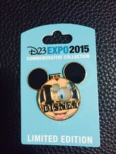 Disney D23 Expo Mickey Disney Pin Stained Glass Ltd Edition 1500