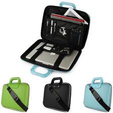"""SumacLife Leather Laptop Sleeve Case Shoulder Messenger Bag For 16"""" MacBook Pro"""