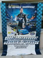 "Large Nascar Jeff Gordon #24 Welcome Race Fans Vinyl Banner Sign 69"" x 94"" Long"