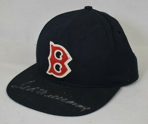 Ted Williams Signed Autographed Boston Red Sox Hat Cap With PSA DNA COA