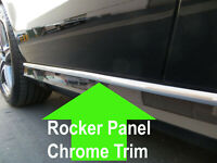 FOR LINCOLN ROCKER PANEL Body Side Molding CHROME Trim 2pc - 2000-2018