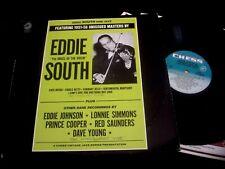 EDDIE SOUTH SIDE JAZZ/UNISSUED MASTERS/CHESS/JAZZ/USA PRESS