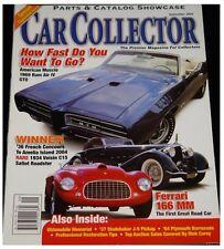 Car Collector February 2002--58 Custom 300, 60 Corvette, 69 440 Barracuda, Lexus