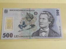 Romania 500 lei 2009 Polymer Note