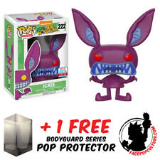 FUNKO POP AAAHH REAL MONSTERS ICKIS NYCC 2017 EXCLUSIVE + FREE POP PROTECTOR