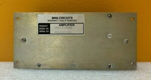 Mini-Circuits ZHL-42 10 to 4200 MHz, 30 dB, SMA (F) Coaxial Amplifier. Tested!
