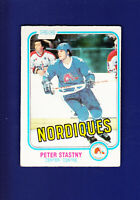 Peter Stastny RC HOF 1981-82 O-PEE-CHEE OPC Hockey #269 (VGEX) Quebec Nordiques