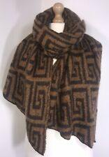 Designer Inspired Blanket Wrap Pashmina Fluffy Soft Cosy Viscose Wool Long NEW