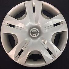 """(1) Used 15"""" Nissan Versa Wheel Cover (hubcap) Hollander #53083"""