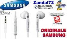 AURICOLARI STEREO ORIGINALI SAMSUNG S7 S7EDGE EARPHONE EO-EG920BW G935F G930F ,