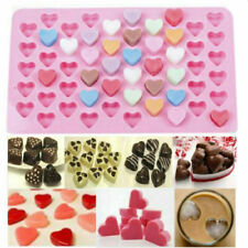1PCS Valentine 55 Pink Mini Chocolate Love Hearts Silicone Mould Jelly Ice 1.5cm