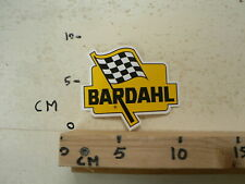 STICKER,DECAL BARDAHL LOGO FINISH FLAG  OIL ?