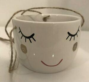 Lady Face Planter Pots / Head Shaped Planter / Cute Flower Vase