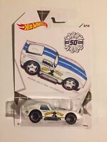 Hot Wheels~ Larry Wood~ Shelby Cobra~50th Anniversary Collection~2019~#3/10~NM!