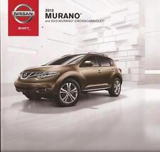 2013 13  Nissan Murano original sales brochure