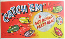 Catch EM Mousie Party Game Retro Revisited 1950s Hilarious Family Fun