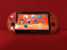 USED PlayStation Vita Wi-Fi Model Metallic Red (PCH-2000ZA26) only console F/S