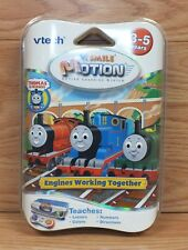 V Tech V.Smile Motion Learning System Thomas Engines Working Together Game