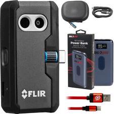 FLIR uno Pro Lt cámara de imágenes térmicas para teléfonos inteligentes con paquete de alimentación Deco Gear