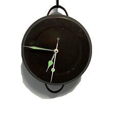 #1385 Unique Kitchen Cooking Pot Clock