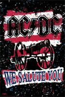 AC/DC We Salute You Poster by Stephen Fishwick 24-by-36 Inches
