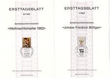 Bund Mi.Nr.ETB 1-26 @@ Gestempelte Ersttagsblätter aus 1982 ---ca.28 M€---796