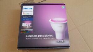 Philips Hue White & Colour Ambiance Starter Kit E27 - 1x Bridge with 3 E27 Bulbs
