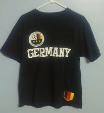 Germany Soccer Simply for Sports  Black T-Shirt!! Size Medium!!