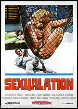 SEXUALATION MANIFESTO CINEMA AVELLI EASTWOOD 1970 NUDE ASTROP MOVIE POSTER 4F